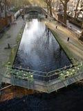 Świętego Martin kanał w ranku Obraz Royalty Free