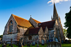 Świętego Mary kościół Obrazy Royalty Free