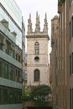 Świętego Mary Somerset wierza Obrazy Royalty Free