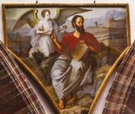 Świętego Matthew klasztoru Niepokalanego poczęcia magdalenki San Miguel Meksyk Obraz Stock