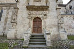 Świętego Michael katedra w Alba Iulia Obrazy Royalty Free