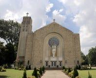 Świętego Michael kościół katolickiego przód, Memphis, TN zdjęcia royalty free
