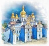 Świętego Michael Złoty Domed monaster w Kijów, Ukraina Zdjęcie Royalty Free