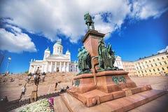 Świętego Nicholas katedra w Helsinki fotografia royalty free