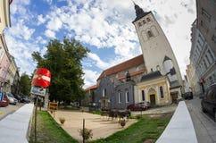 Świętego Nicholas kościół, Niguliste muzeum Obrazy Stock