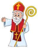Świętego Nicholas tematu wizerunek 1 ilustracji