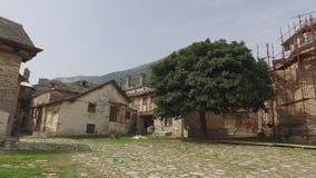 Świętego Panteleimon monaster główny kościół, góra Athos, Grecja zbiory wideo