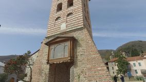 Świętego Panteleimon monaster główny kościół, góra Athos, Grecja zdjęcie wideo