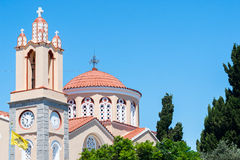 Świętego Panteleymon kościół w wiosce Siano Obrazy Stock