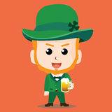 Świętego Patrick dnia charakter Zdjęcia Royalty Free