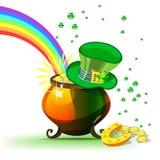 Świętego Patrick dnia wiosny Irlandzki wakacje Zdjęcie Royalty Free