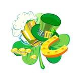 Świętego Patrick dnia wiosny Irlandzki wakacje Fotografia Royalty Free