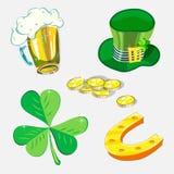 Świętego Patrick dnia wiosny Irlandzki wakacje Fotografia Stock