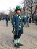 Świętego Patrick festiwal, Moskwa Zdjęcie Royalty Free
