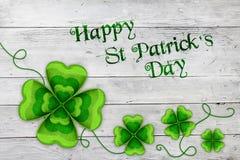 Świętego Patrick ` s dnia tło Obrazy Royalty Free