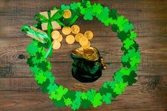 Świętego Patrick ` s wiosna & dzień przychodzimy zdjęcia royalty free