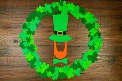 Świętego Patrick ` s wiosna & dzień przychodzimy zdjęcie stock