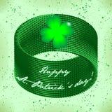 Świętego Patricks dnia plakat Fotografia Stock