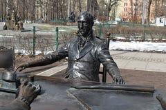 Świętego Petersburg architektów Aleksander park fotografia royalty free