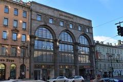 Świętego Petersburg historii architektury budować stary obraz royalty free