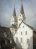 Świętego Severus kościół, Boppard, Niemcy Zdjęcia Royalty Free