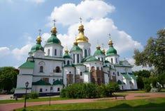 Świętego Sophia katedra w Kijów zdjęcia royalty free