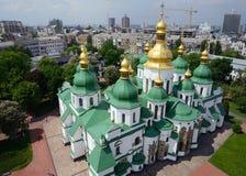 Świętego Sophia katedra w Kijów obraz royalty free