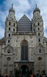 Świętego Stephen kościół w Wiedeń Obrazy Royalty Free