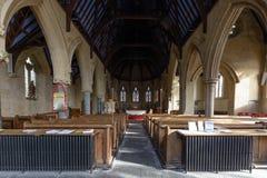 Świętego Tomasowski Kościelny Nave Zdjęcie Stock