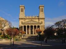 Świętego Vincent De Paul kościół, Paryż, Francja zdjęcia stock