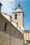 Świętego Vincent kościół Nyons Obraz Royalty Free