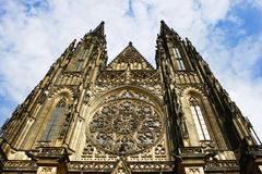 Świętego Vitus katedra, Praga, republika czech obraz royalty free