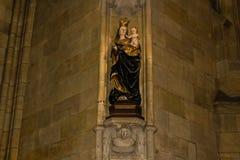 Świętego Vitus katedry sztuka Zdjęcia Stock