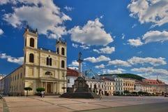 Świętego Xavier katedra przy Banska Bystrica Fotografia Stock