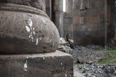 Świętego Zoravar kościół w Yeghvard Armenia Fotografia Royalty Free