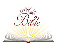 Świętej biblii projekt Fotografia Royalty Free