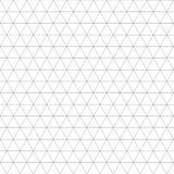 Świętej geometrii siatki deco sześciokąta graficzny wzór Obrazy Royalty Free