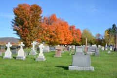 Świętej trójcy cmentarz Obraz Royalty Free