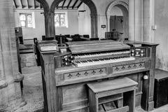 Świętej trójcy Godmanstone organy Zdjęcia Royalty Free