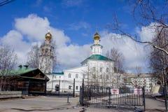 Świętej trójcy kościół archanioł, Obrazy Royalty Free