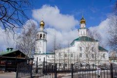 Świętej trójcy kościół archanioł, Zdjęcie Royalty Free