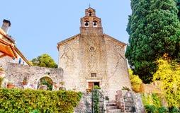 Świętej trójcy kościół monaster Praskvica, Montenegro zdjęcia stock