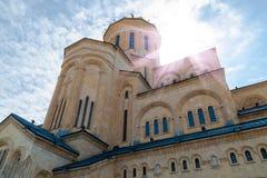 Świętej trójcy kościół, Tbilisi, Gruzja Zdjęcie Stock