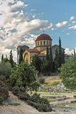 Świętej trójcy kościół w Ateny, Grecja zdjęcie stock