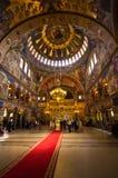 Świętej trójcy kościół w Sibiu, Rumunia Obraz Stock