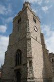 Świętej trójcy Kościelny wierza, Rayleigh fotografia stock