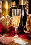 Święto Bożęgo Narodzenia obiadowy stół Zdjęcie Royalty Free
