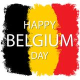 Święto Państwowe Belgia royalty ilustracja