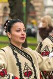 Święto Państwowe parada w Arad, Rumunia Obraz Royalty Free