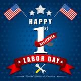 Święto Pracy amerykanin royalty ilustracja